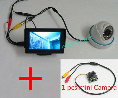 1 Cam+HD 4.3 inch LCD Security Tester CCTV Camera Test Monitor FPV snow monitor