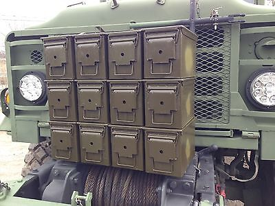 12 Pack! 50 Cal M2A1 Ammo Can Box Grade 1 Excellent Condition .50