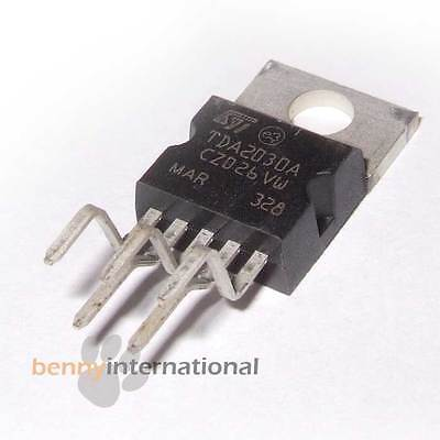 TDA2030A STM  AUDIO AMPLIFIER 18W IC HiFI 2030 Pentawatt V - AUS STOCK