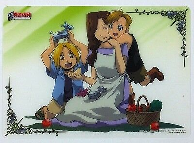 Fullmetal Alchemist Clear Plate Poster mini shitajiki pencil board Japan 6