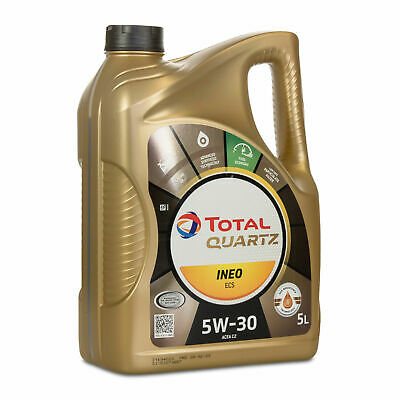 Total Quartz Ineo ECS 5W30 5L Car Engine Motor Oil Synthetic Technology 5 Litre