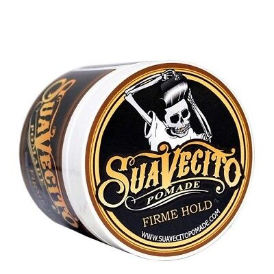 Suavecito FIRM Strong Hold Hair Pomade Men's Barbershop Firme Gel Wax USA