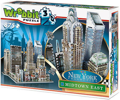 Wrebbit 3D-Puzzle MIDTOWN EAST, New York Collection | 875 Teile