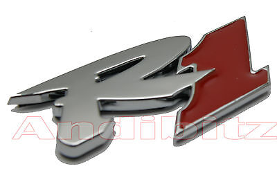 Motorbike Bike 3D Chrome Red Yamaha R1 Self Adhesive Stick On Badge Emblem Decal