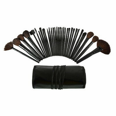 32 Pcs Professional Makeup Eyebrow Shadow Cosmetic Brush Set Kit With Pouch  MG