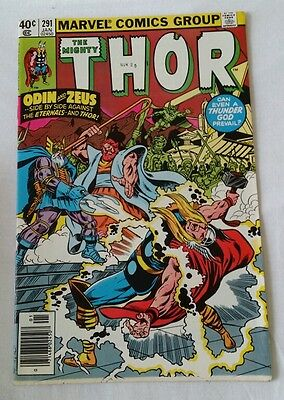 Marvel: The Mighty Thor!! Vol.1 No.291 Jan.1980