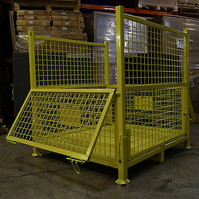 01 - Stillages - Steel Cages-Without Wheels - Stackable - 1 Cage For $495-
