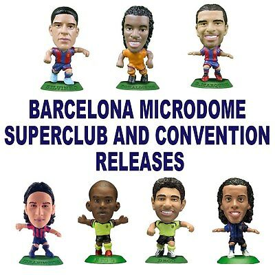BARCELONA MicroStars - MicroDome, Superclub and Convention Choice of 8 figures