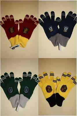 NWT Universal Studio Wizarding World of Harry Potter Gloves Mittens Four Houses