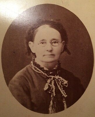 Fantastic Antique Photograph Port Townsend WA Grandmother Late 1800's