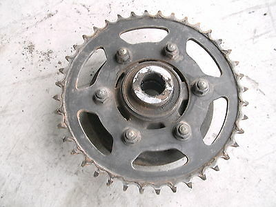 1998 Zx6R Kawasaki 99 Zx Zx6 Rear Sprocket And Carrier