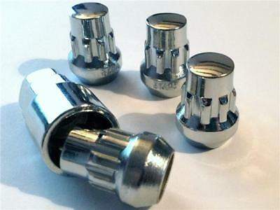 4 x locking nuts for alloy wheels to fit Ford Transit. M14 x 2 lockers with key