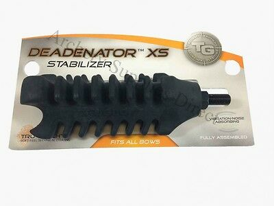 TruGlo Deadenator XS Stabiliser Black - Fits All Archery Bows