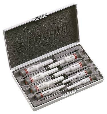 FACOM AEF.J6  8 Pce MICRO-TECH SLOT, POZI & PHILLIPS SCREWDRIVER SET Precision