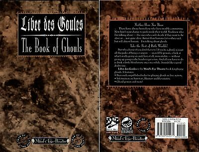 Liber des Goules-The Book of Ghouls-Roleplaying Game-RPG-White Wolf-selten-rare