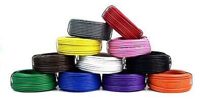 16 Ga 50 Ft Rolls Primary Auto Remote Power Ground Wire Cable (6 Colors)