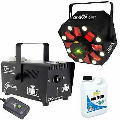 Chauvet Swarm 5 FX LED Effect Light + Hurricane 700 Fog/Smoke Machine Package