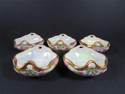 Julius Brauer Decorated M Z Austria Porcelain Nut Dishes Early 1900's (#77-2)