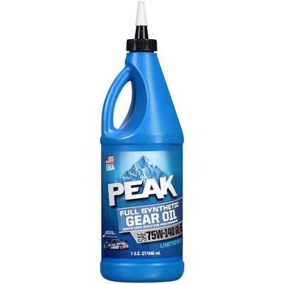 Peak 75W-140 Full Synthetic Gear Oil Quart P4GS776