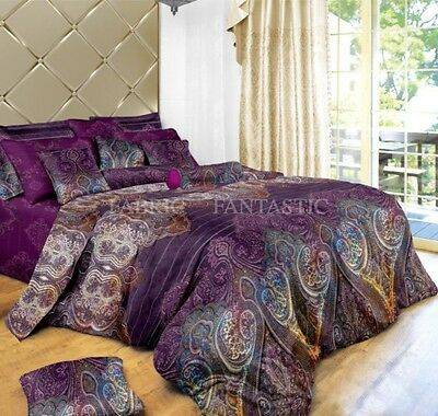 ASTER Sheet Set Double/Queen/King Size Bed Flat&Fitted&Pillowcases New