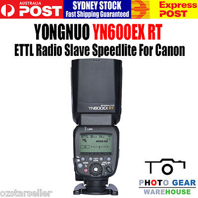 Yongnuo YN600EX-RT Radio Slave Flash Speedlite as Canon 600EX-RT For 1D5D 6D 7D