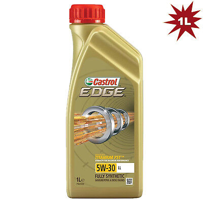 Castrol Edge Titanium FST Longlife 5W30 Fully Synthetic Engine Oil - 1 Litre