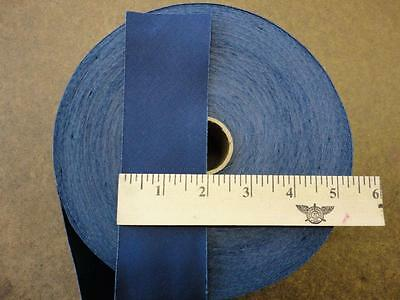 "Wholesale Bias Tape, NAVY color  2"" wide poly cotton twill 50 yds quilts hem"