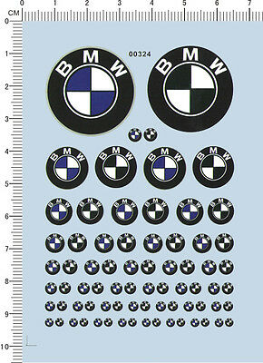 Decals BMW for different scales (00324)