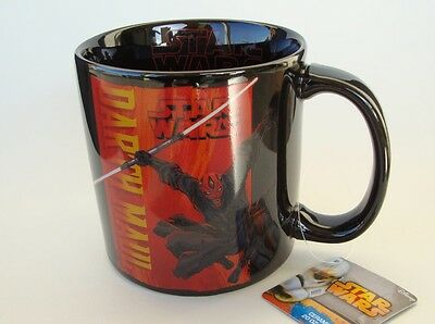 STAR WARS DARTH MAUL COFFEE MUG 20 oz. CUP Official 2014 Lucasfilms Licensed