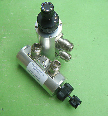 1pcs Used Good JFW 0-30dB DC-2GHz 50DR-055 N Type Variable Step Attenuator #VHE