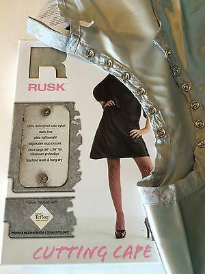 *BUY 3 FOR $27-RUSK Haircutting/Styling Salon Snap Cape -  100% Waterproof Nylon