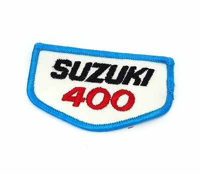 NOS Vintage Suzuki 400 Patch - Street Dirt Motocross Motorcycle 70's 80's