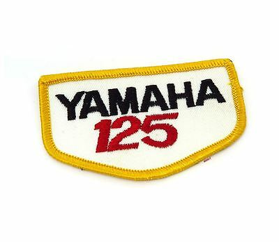 NOS Vintage Yamaha 125 Patch - Street Dirt Motocross Motorcycle 70's 80's