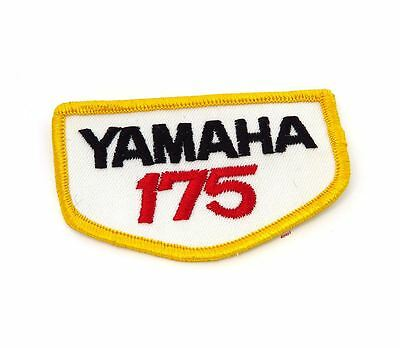 NOS Vintage Yamaha 175 Patch - Street Dirt Motocross Motorcycle 70's 80's