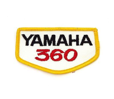 NOS Vintage Yamaha 360 Patch - Street Dirt Motocross Motorcycle 70's 80's