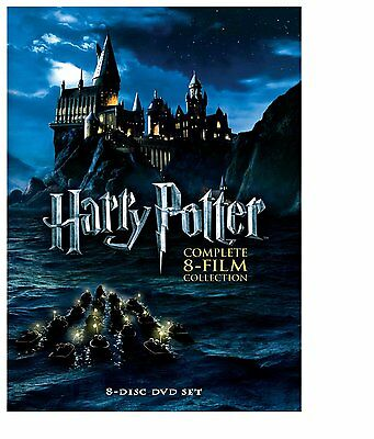 Harry Potter: The Complete 8-Film DVD Collection