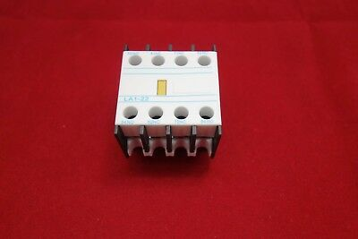 1PC Auxiliary Contact Block Fits LA1-DN22 2NO+2NC