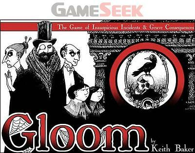 Gloom! Card Game - Toys Brand New Free Delivery