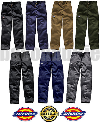 Dickies Mens Redhawk Action Work Wear Cargo Combat Trousers Or Knee Pads Pockets