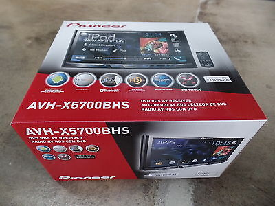 "Pioneer AVH-X5700BHS Double DIN Bluetooth 7"" LCD In-Dash DVD Receiver w/HD Radio"