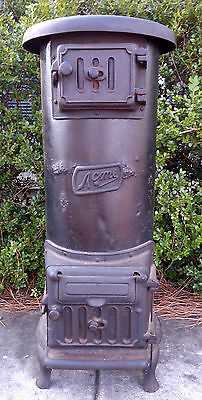Antique Upright Wood Stove