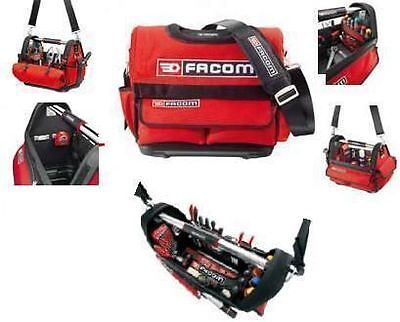 Facom TOOLS  Red Black Tote Bag Storage Tool Bag like ToolBox 42 x 24 x 34 cm