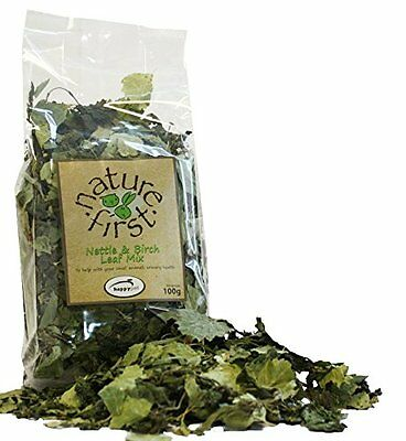 Happy Pet Nature First Nettle & Birch Leaf Mix, Small Animal Feed