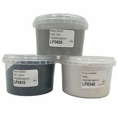 Stone Tumbler Silicon Carbide LARGE COMPLETE Grit & Polish Pack - Tumbler GRITS