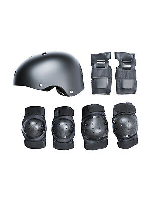 TBF Helmet & Pads Skate Protection 7-in-1 Combo Set - Safety Skateboard Scooter
