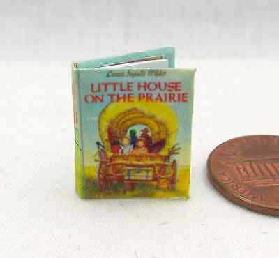 LITTLE HOUSE ON THE PRAIRIE Miniature Book 1:12 Scale Laura Ingalls Wilder