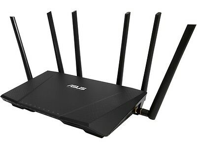 ASUS RT-AC3200 Tri-Band AC3200 Wireless Gigabit Router AiProtection with Trend M