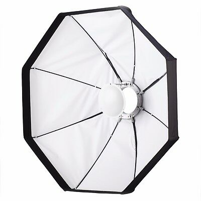 "24""/60cm Collapsible White Beauty Dish / Softbox Kit (2 in 1) S-Type Fitting"