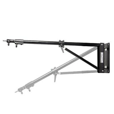 HeavyDuty Thicker Diameter Wall mounted Boom Stand 75-125cm Max load 7kg Studio