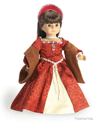 """Doll Clothes 18"""" Medieval Dress by Carpatina Made For American Girl Dolls"""